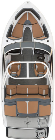 Four Winns Horizon 190 RS Floor Plan